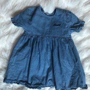 Levi's baby denim dress